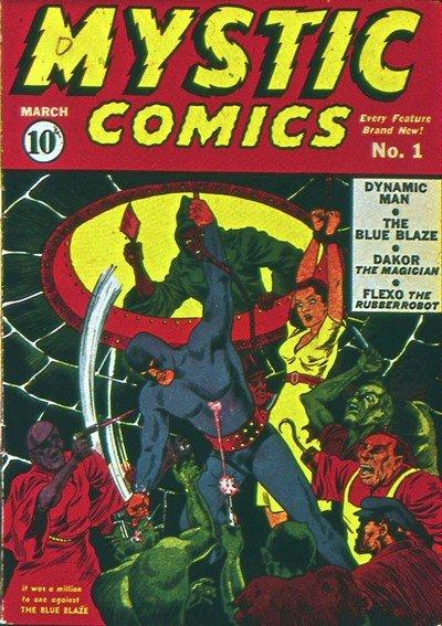 Mystic Comics #1 – 10 (1940-1942)