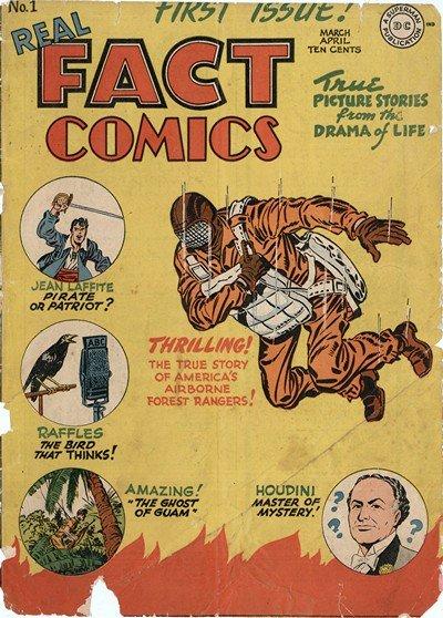 Real Fact Comics #1 – 21 (1946-1949)