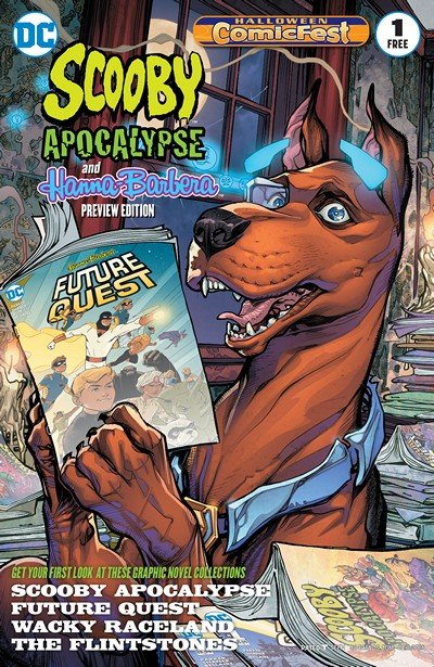 Scooby Apocalypse #1 (Halloween ComicFest Special Edition) (2016)