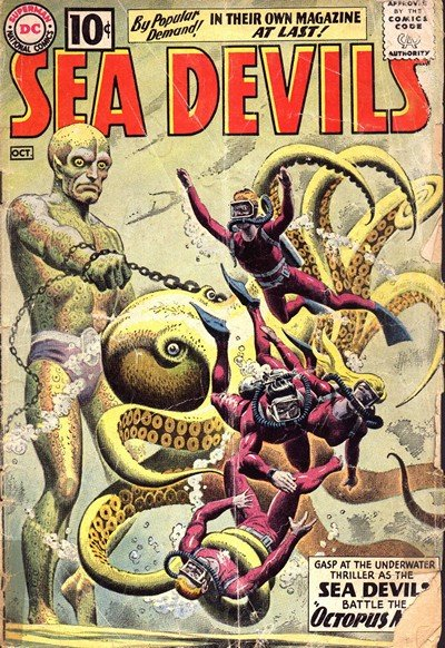 Sea Devils Vol. 1 #1 – 35 (1961-1967)