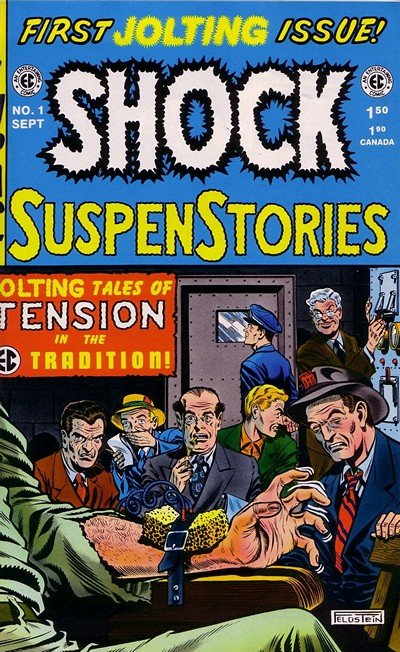 Shock SuspenStories #1 – 18 (1952-1954)