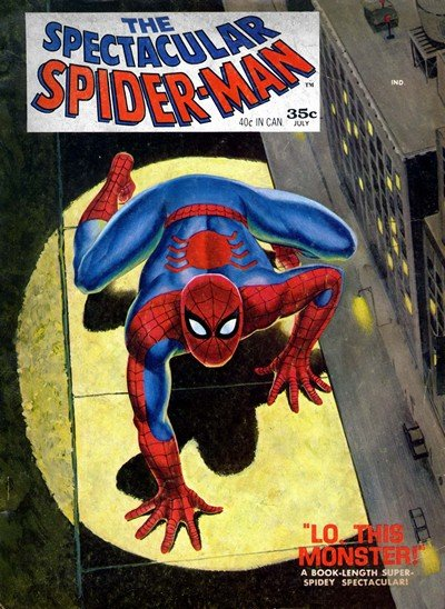 Spectacular Spider-Man Magazine #1 – 2 (1968)