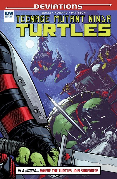 Teenage Mutant Ninja Turtles Deviations #1 (2016)