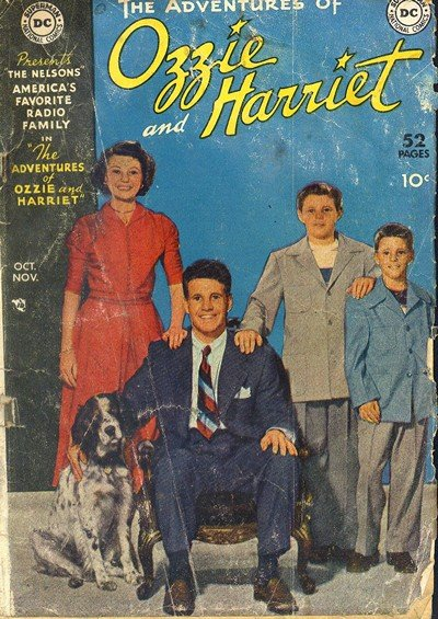 The Adventures of Ozzie and Harriet #1 – 5 (1950)