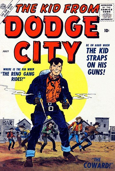 The Kid from Dodge City #1 – 2 (1956-1959)