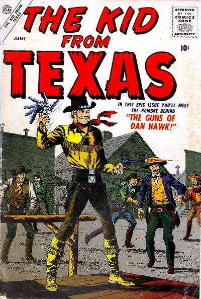 The Kid from Texas #1 – 2 (1957)