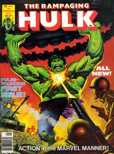 The Rampaging Hulk Magazine #1 – 9 (1977-1978)