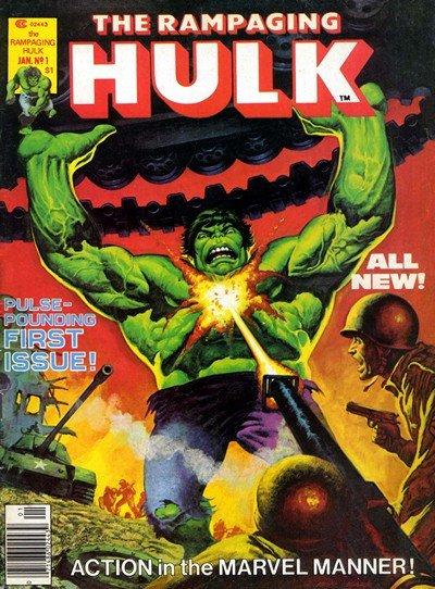 The Rampaging Hulk Magazine + The Hulk Magazine #1 – 27(1977-1981)