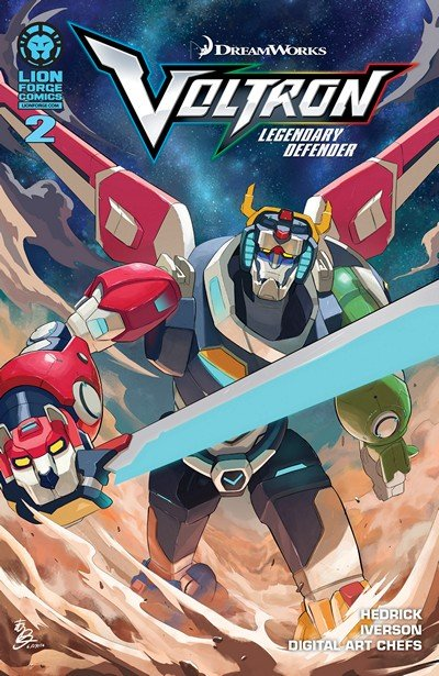 Voltron – Legendary Defender #2 (2016)