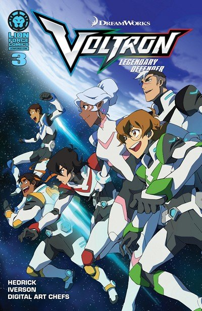 Voltron – Legendary Defender #3 (2016)