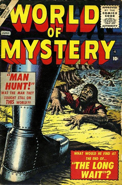 World of Mystery #1 – 7 (1956-1957)