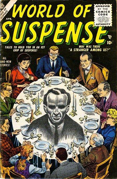 World of Suspense #1 – 8 (1956-1957)