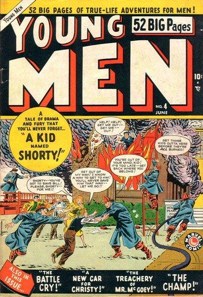 Young Men #4 – 28 (1950-1954)