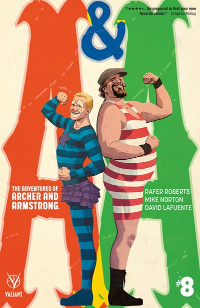 A&A – The Adventures of Archer & Armstrong #8 (2016)