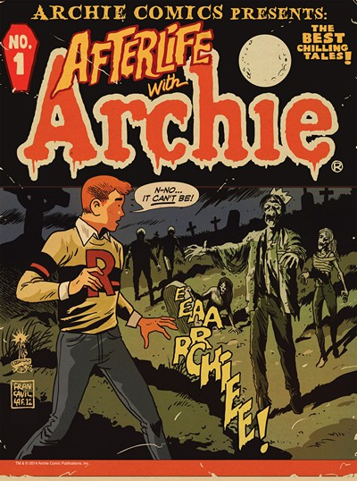 Afterlife With Archie Magazine #1 – 4 (2014-2015)