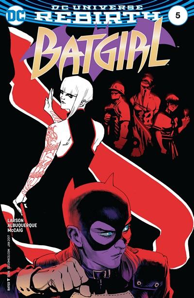 Batgirl #5 (2016)