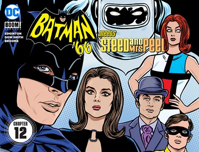 Batman '66 Meets Steed and Mrs Peel #12 (2016)