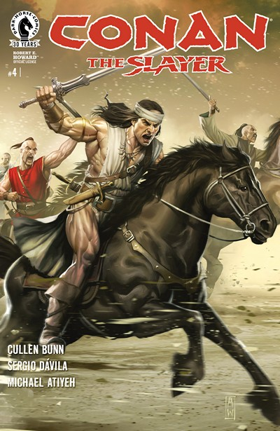 Conan the Slayer #4 (2016)