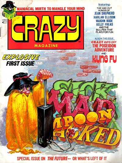 Crazy Magazine Vol. 1 #1 – 94 + Special (1973-1983)