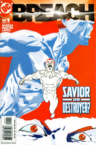 DC Comics Breach #1 – 11 (2005)