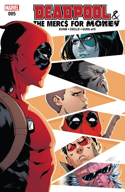 Deadpool & the Mercs for Money #5 (2016)