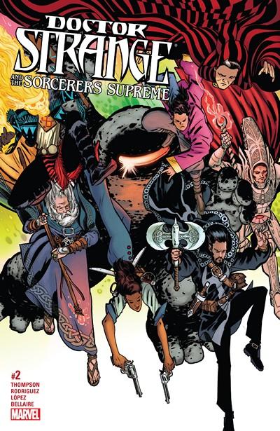 Doctor Strange and the Sorcerers Supreme #2 (2016)