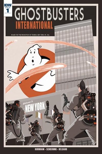 Ghostbusters International #1 – 11 + TPB Vol. 1 (2016)