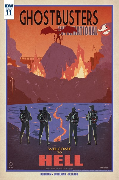 Ghostbusters International #11 (2016)