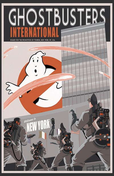 Ghostbusters International Vol. 1 (2016)