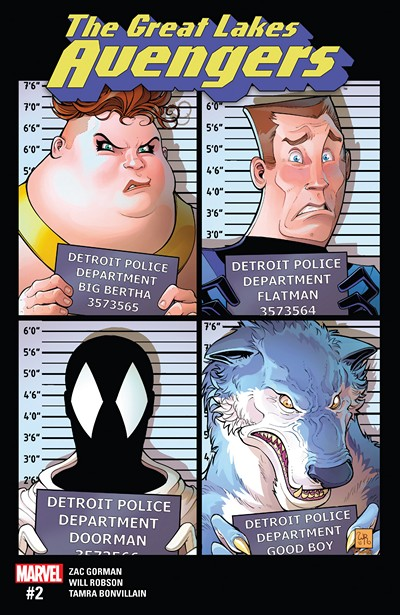 Great Lakes Avengers #2 (2016)