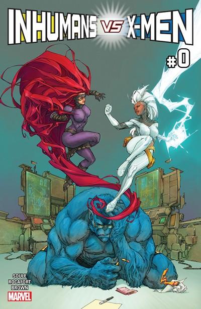 Inhumans vs. X-Men #0 (2016)