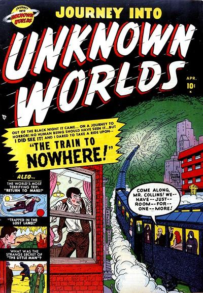 Journey Into Unknown Worlds #4 – 59 (1950-1957)