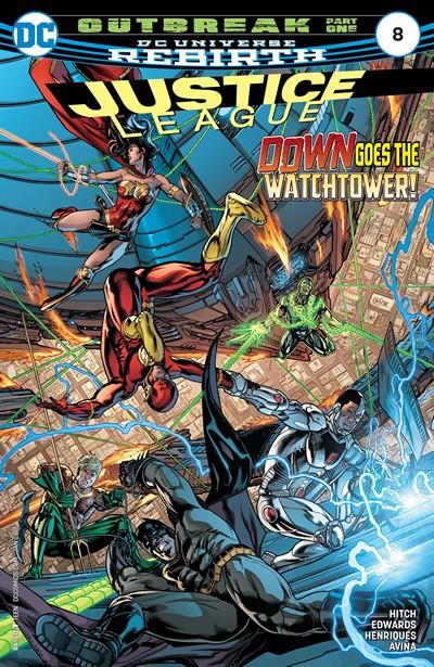 Justice League #8 (2016)