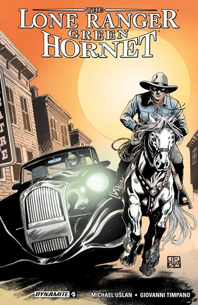 Lone Ranger – Green Hornet #5 (2016)