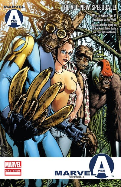 Marvel Apes – Speedball Special #1 (2009)