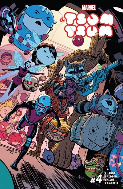 Marvel Tsum Tsum #4 (2016)