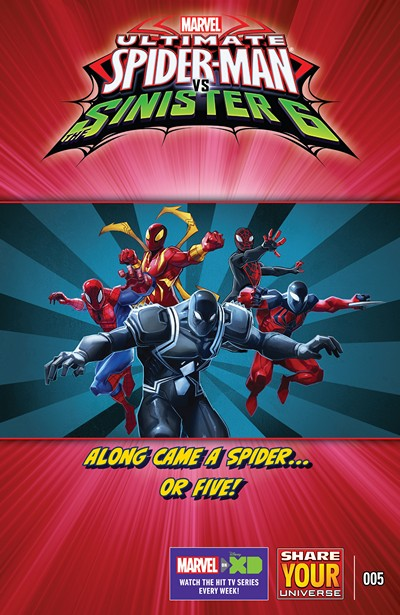 Marvel Universe Ultimate Spider-Man vs. The Sinister Six #5 (2016)