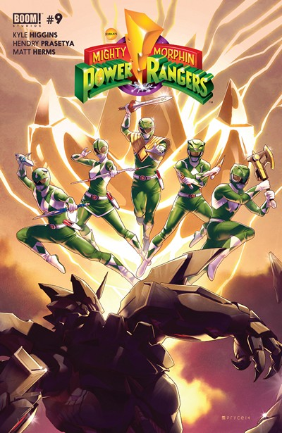Mighty Morphin Power Rangers #9 (2016)