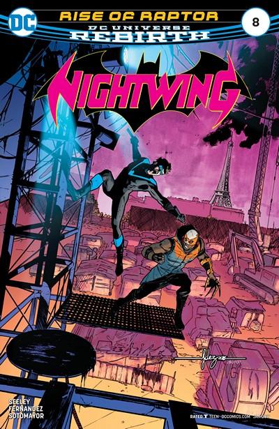 Nightwing #8 (2017)
