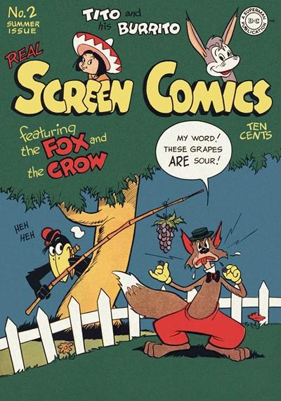 Real Screen Comics #0 – 128 (1945-1959)