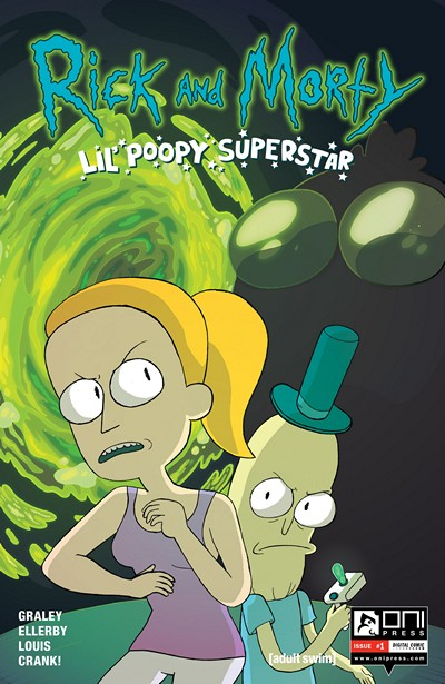 Rick and Morty – Lil' Poopy Superstar #1 – 5 (2016)