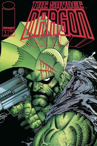 Savage Dragon #1 – 10 (1993-1994)