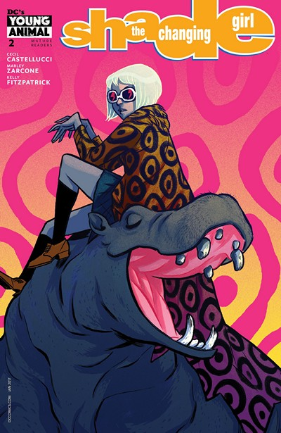Shade – the Changing Girl #2 (2016)