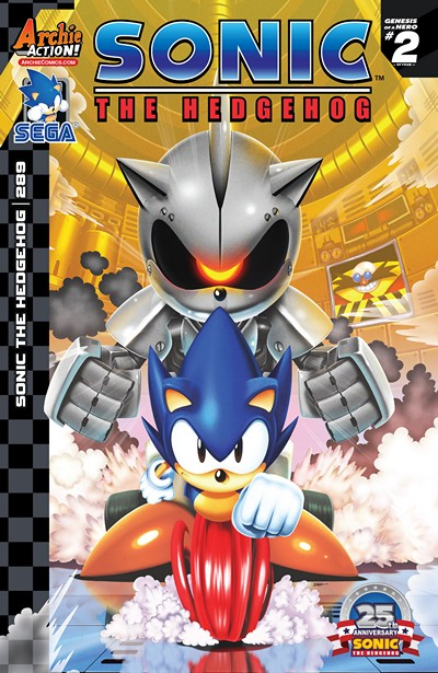 Sonic the Hedgehog #289 (2016)