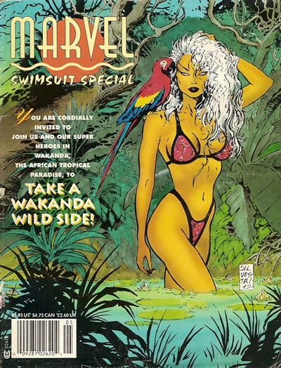 Swimsuit Specials (Marvel & Wildstorm) (1991-1997)