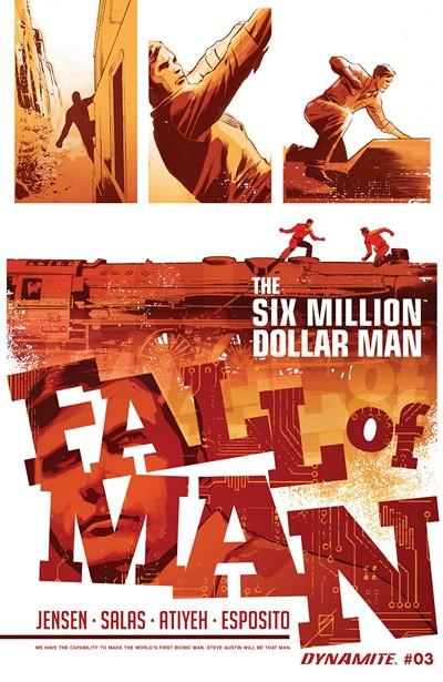 The Six Million Dollar Man – Fall of Man #4 (2016)