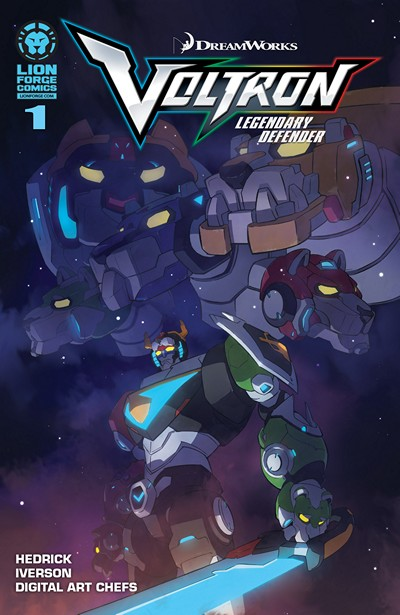 Voltron – Legendary Defender #1 – 5 (2016)