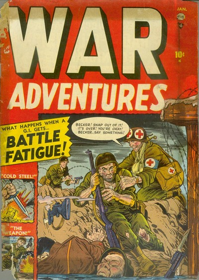 War Adventures #1 – 13 (Incomplete) (1952-1953)
