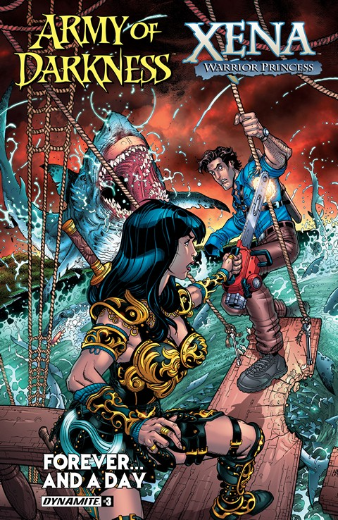 Army Of Darkness Xena Warrior Princess Forever…And A Day #3 (2016)