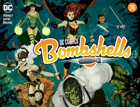 DC Comics – Bombshells #74 (2016)